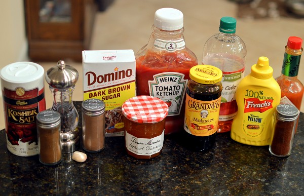 Molasses Barbecue Sauce | That Square Plate