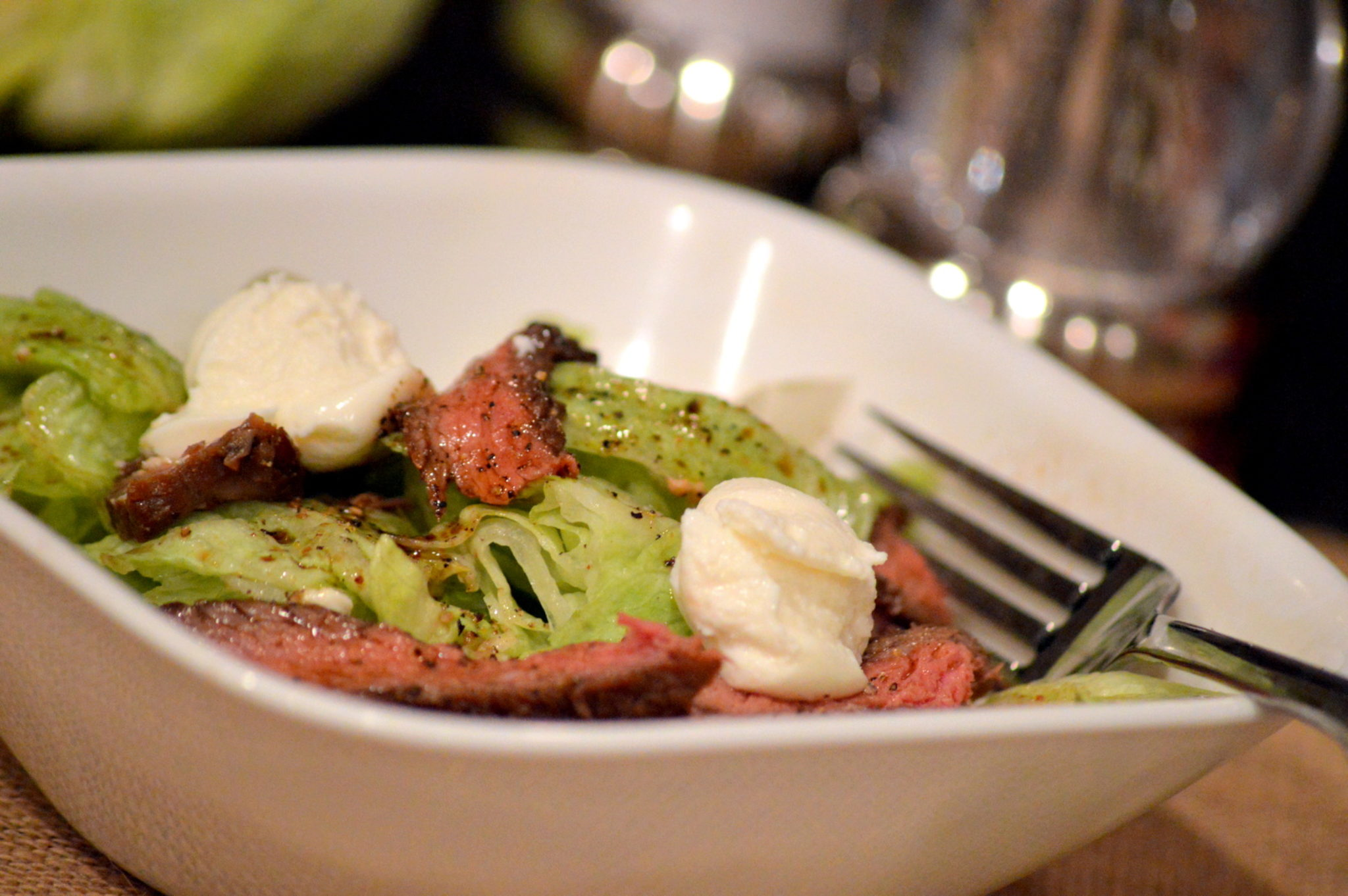 Ricotta Steak Salad