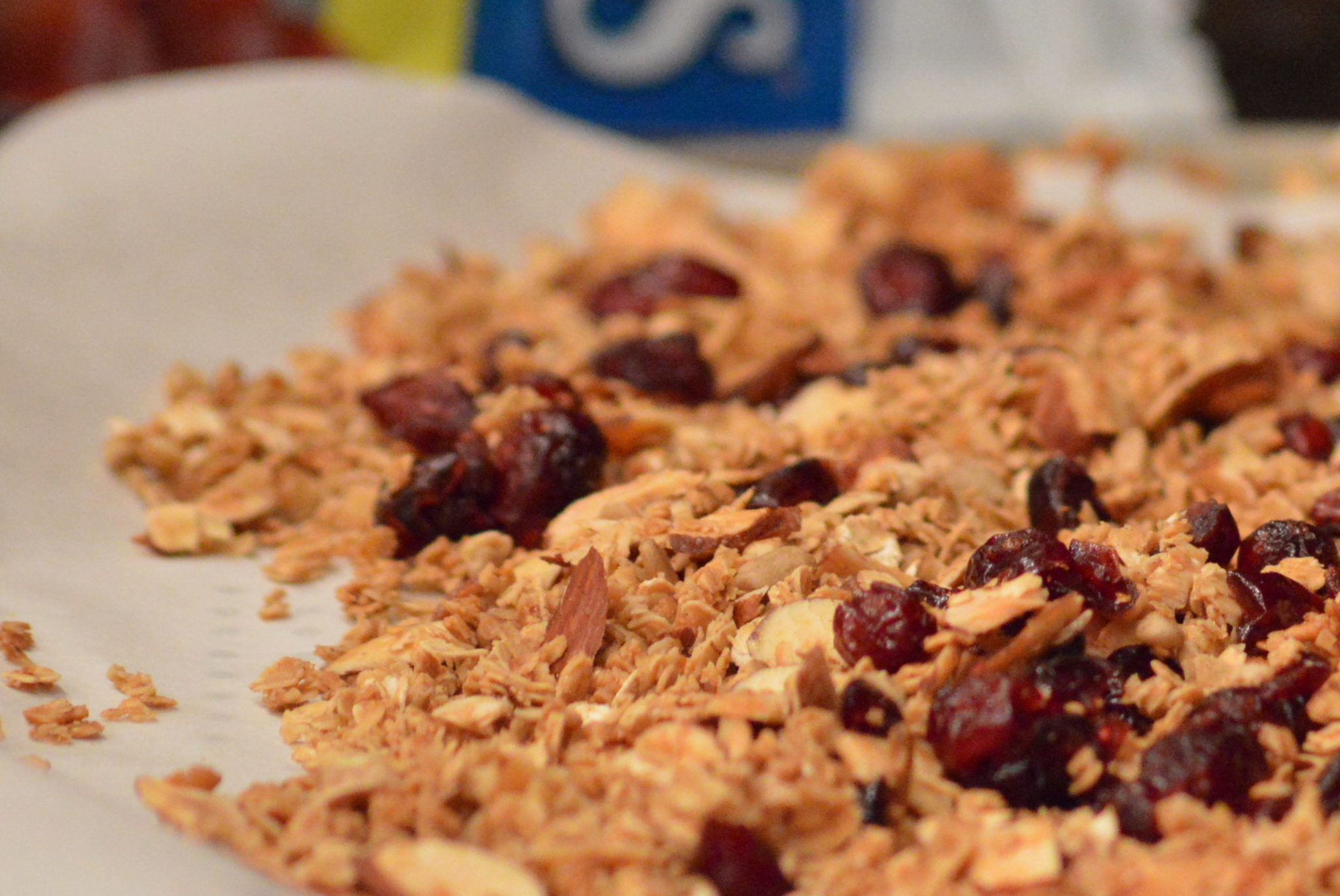 Cranberry/Almond/Maple Granola