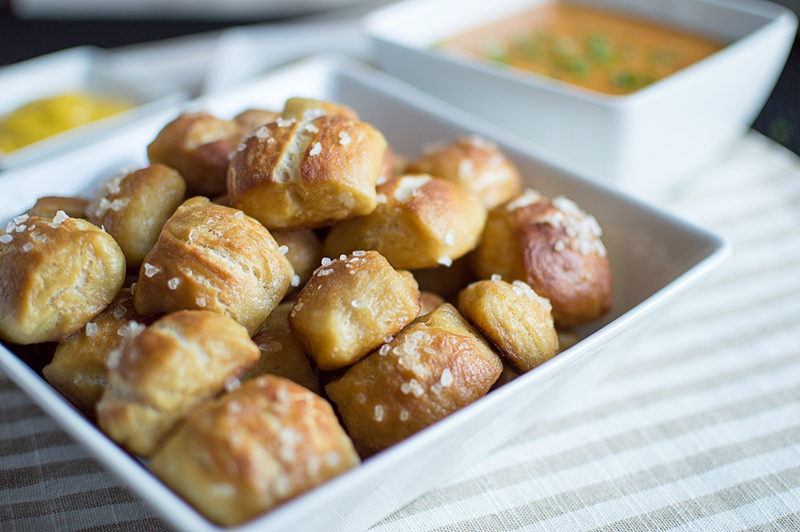 Snack-sized pretzel bites that will keep you coming back for more!