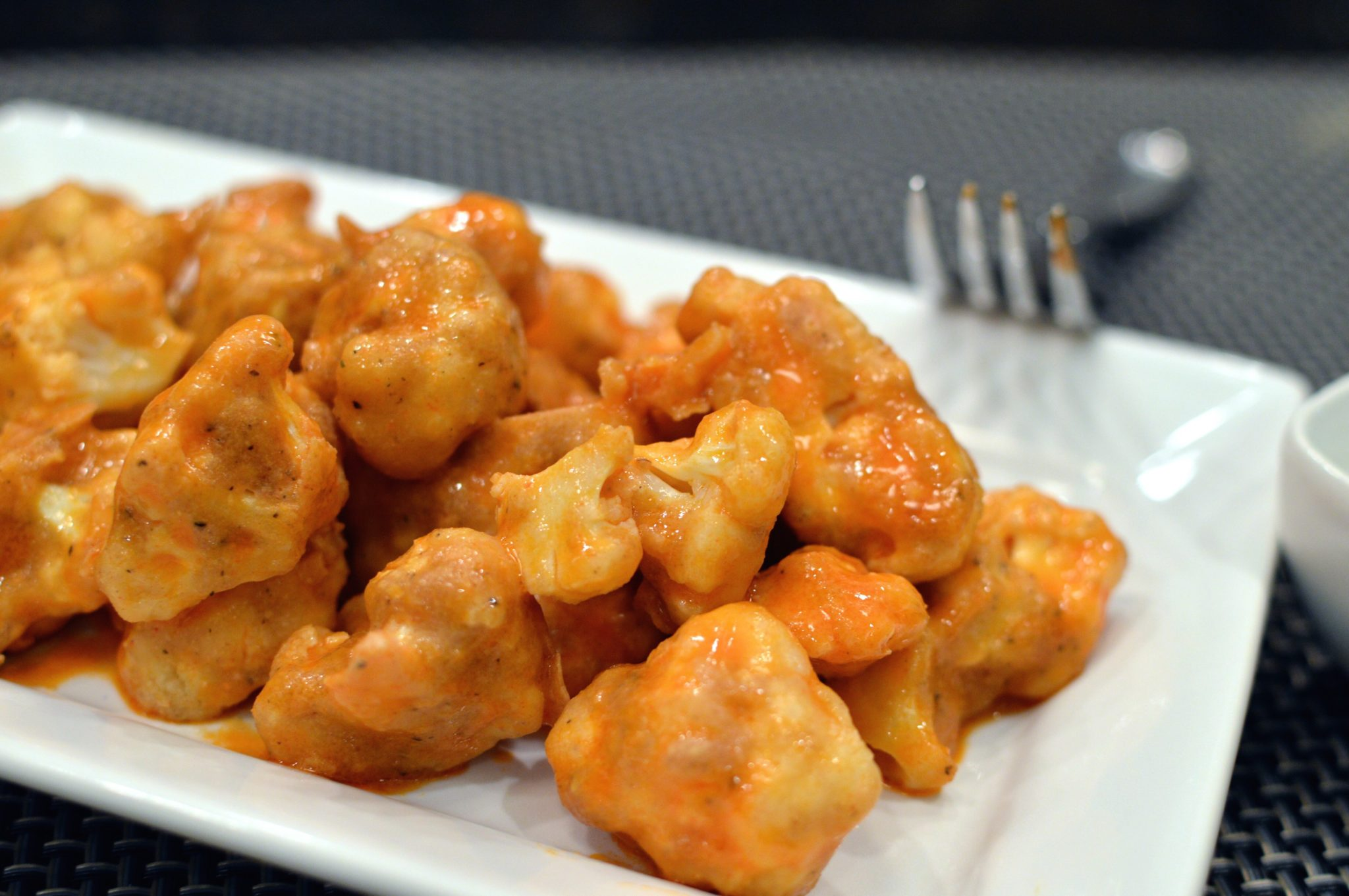 Spicy Buffalo Cauliflower | That Square Plate