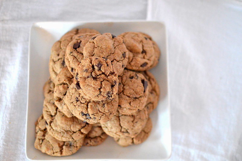 Whole Wheat Chocolate Chip Cookies from Food52's Genius Recipes Cookbook