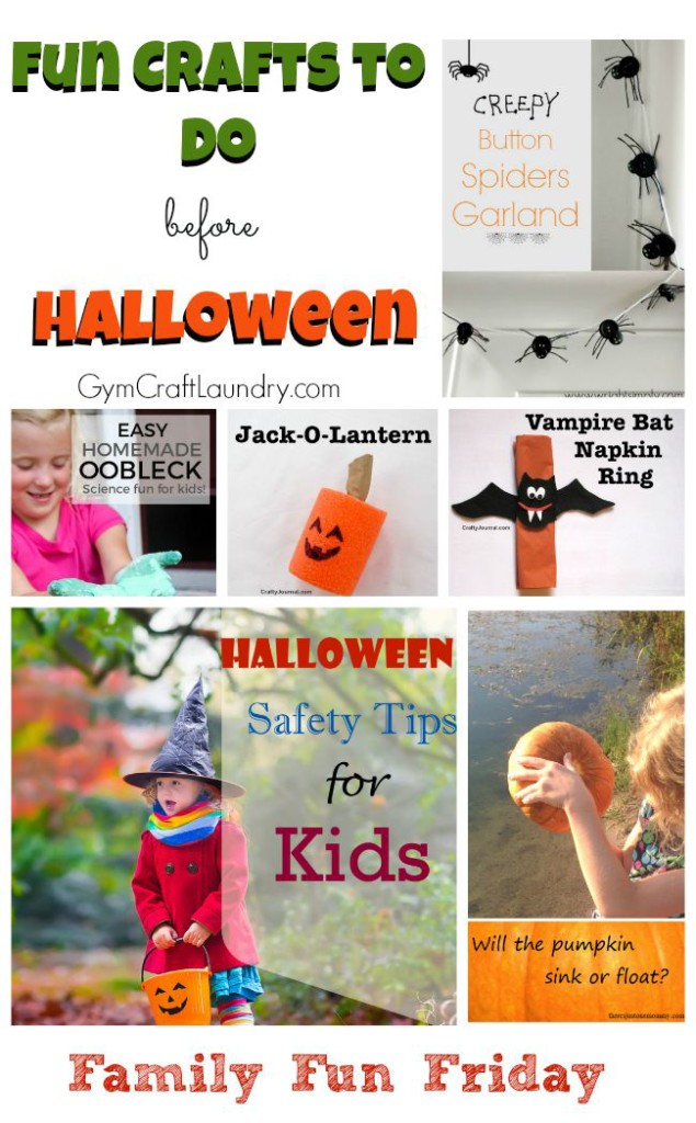 Fun Crafts to do before Halloween