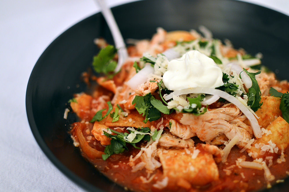 Chipotle Chicken Chilaquiles (5)