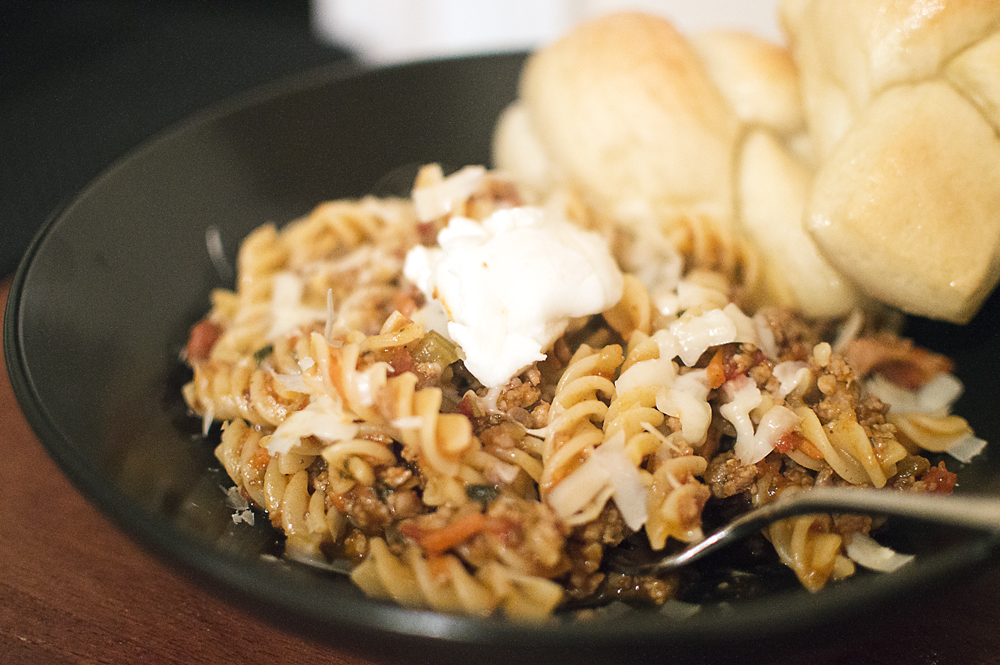 Pork Ragu with Fusilli