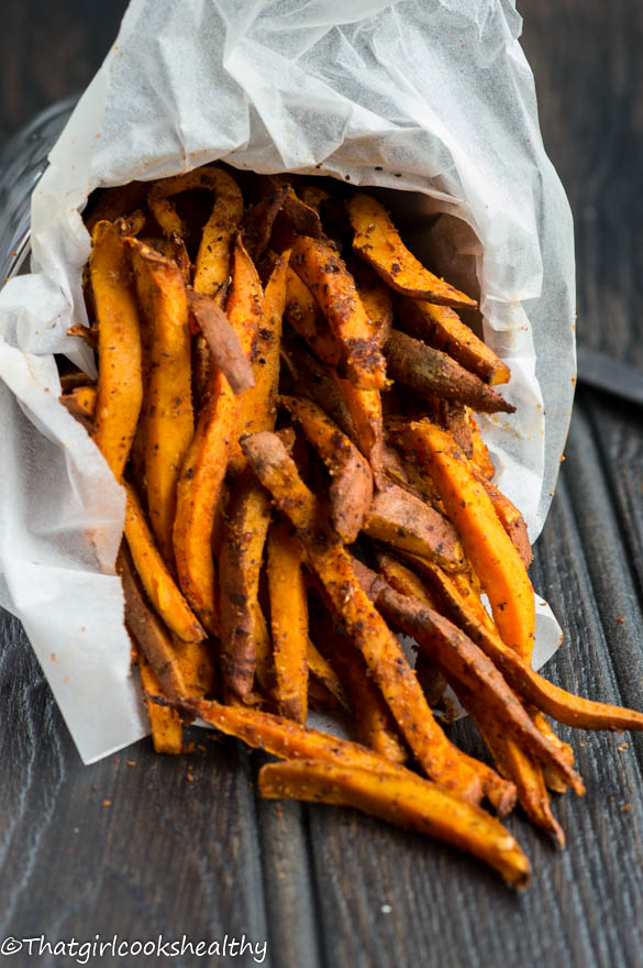 Cajun Sweet Potato Fries from That Girl Cooks Healthy