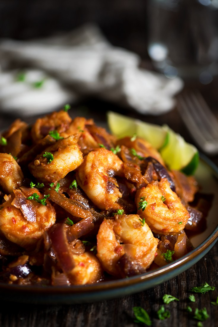 Malaysian Sambal Shrimp from Whitbit's Indian Kitchen