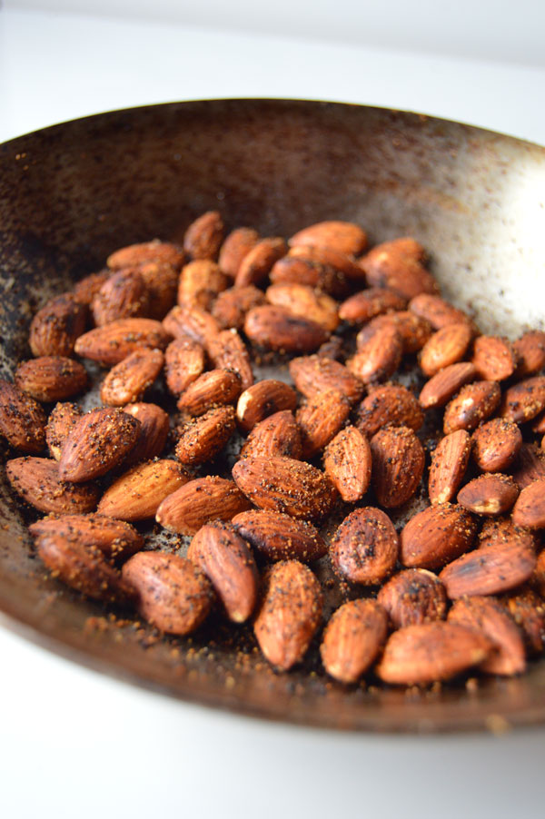 5-Minute Toasted Almonds