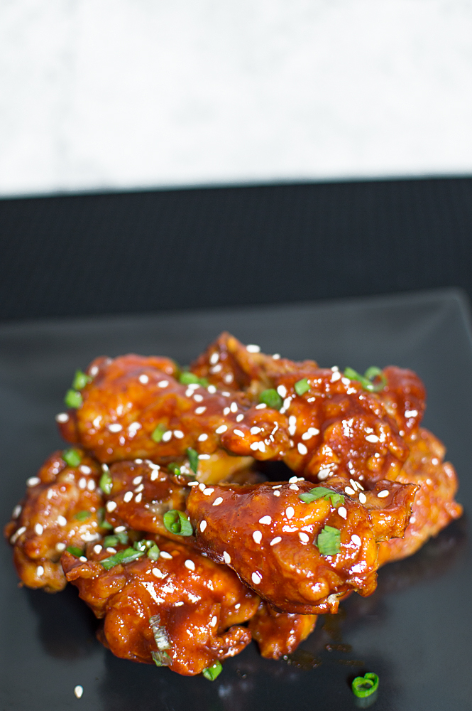 These spicy Korean wings will make your tastebuds have a freakin' dance party!