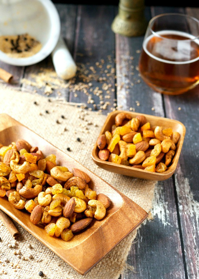 Moroccan Spiced Nuts Trail Mix