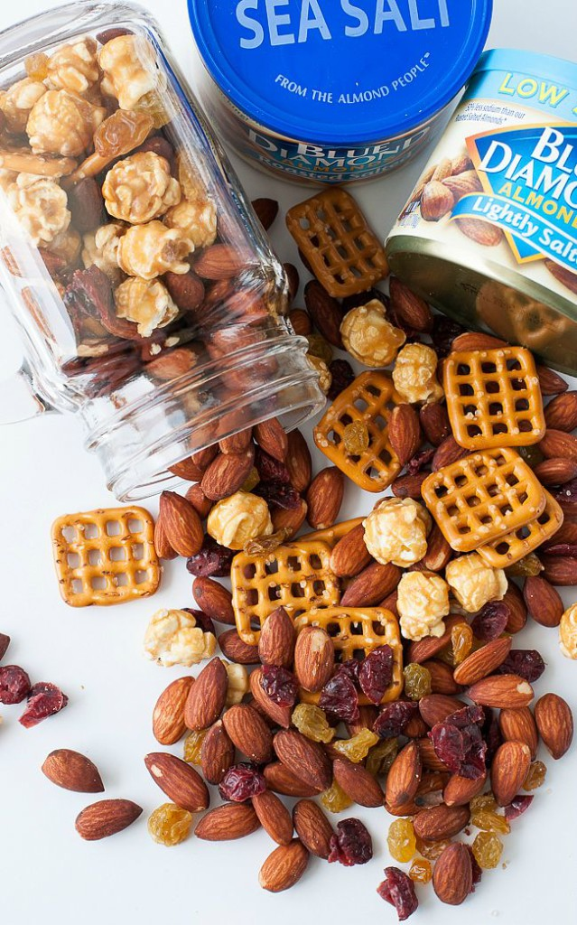 Sweet & Salty Homemade Trail Mix