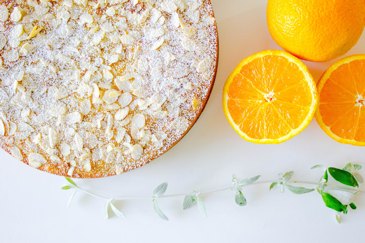 Orange Almond Flourless Cake